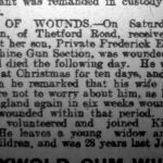 Newspaper clipping from Thetford & Watton Times